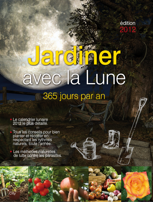 couv jardiner avec la lune 365 jours par an. Black Bedroom Furniture Sets. Home Design Ideas