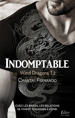 Couv Indomptable (Wind Dragons T2)